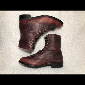 🔴ARIAT LACE UP BOOTS 🥾 SIZE 10 MENS, USED